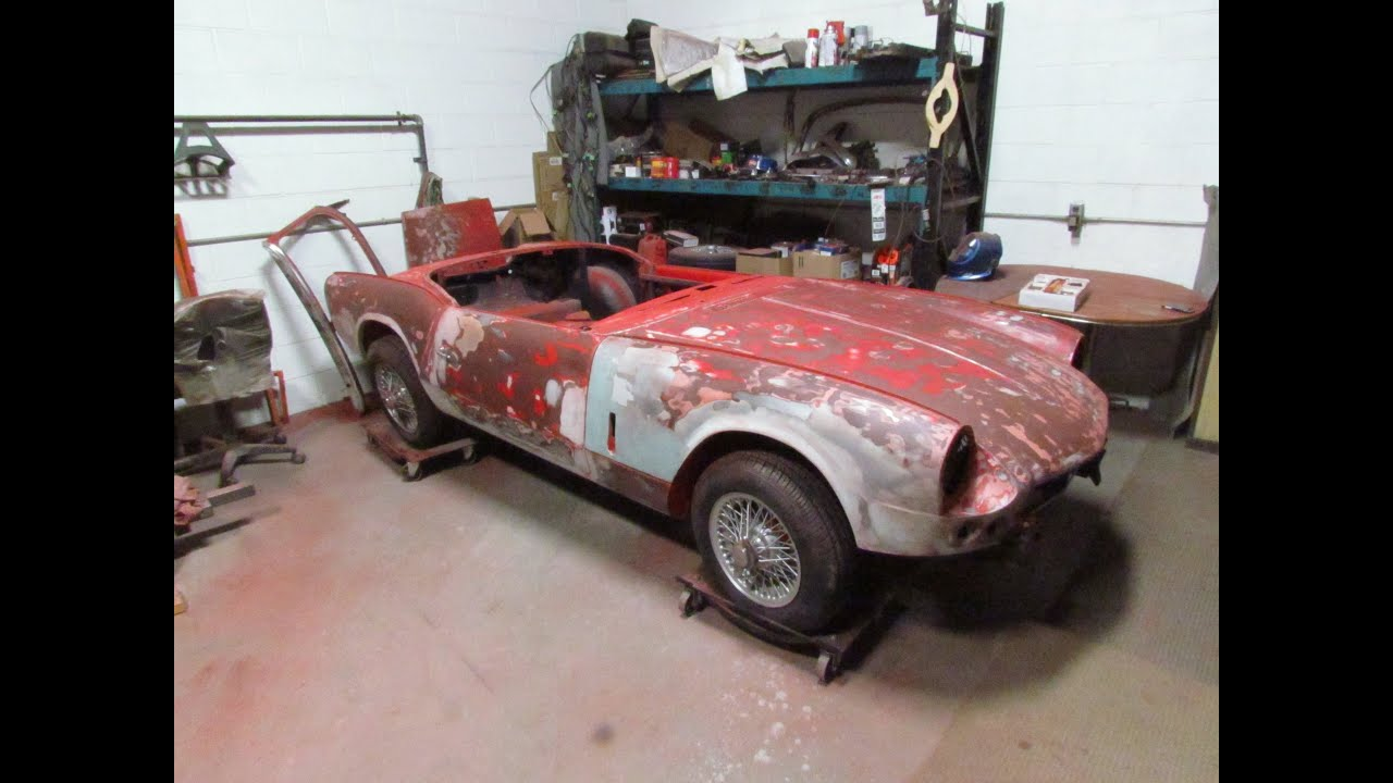 1966 triumph spitfire mk2 restoration project part 15 youtube