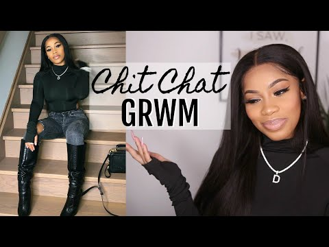 CHIT CHAT GRWM: DATING OLDER VS. YOUNGER MEN, BOSSING UP,  SPENDING VALENTINE'S DAY SINGLE!