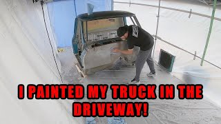How-To Build A Paint Booth in Your Driveway : Finnegan's Garage Ep.131