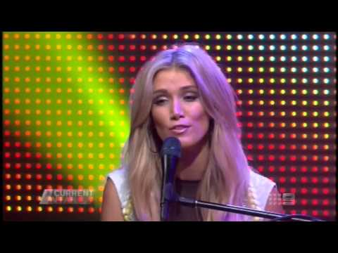 ACA: Delta Goodrem Interview + Performance 26/10/2012