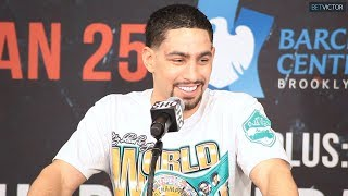 DANNY GARCIA - FULL POST FIGHT PRESS CONFERENCE I GARCIA VS REDKACH l SHOWTIME BOXING