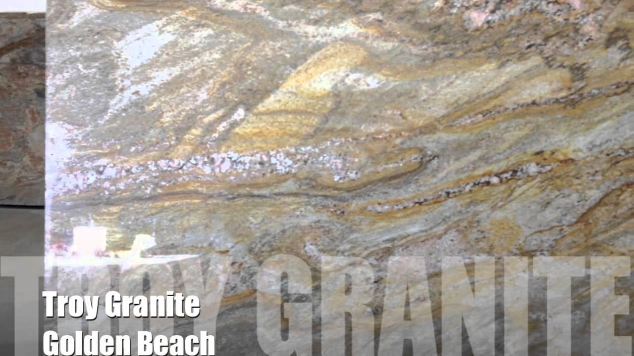 Golden Beach Granite Countertop By Troy