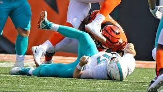 Miami Dolphins coach Adam Gase gets upset when asked about QB Ryan Tannehill's injury.