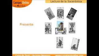 Lectura Suma Sacerdotisa con los 78 arcanos del Tarot: Aprende a leer el tarot