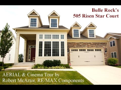 Example of AERIAL & Video Walking Tour in Bulle Rock, Havre de Grace MD by Maryland Homes Team, Inc.