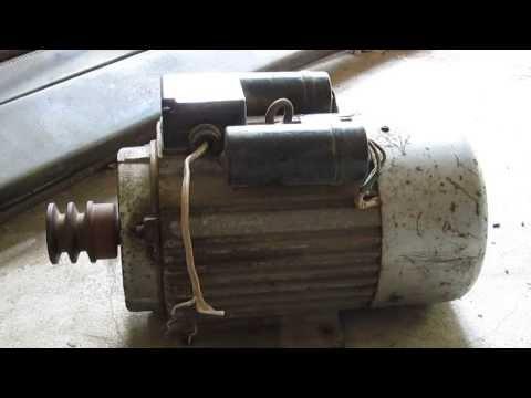 มอเตอร์ 2 แรง Single Phase สภาพดี  โทร 087-919-4673 www.ตลาดมือสอง.com