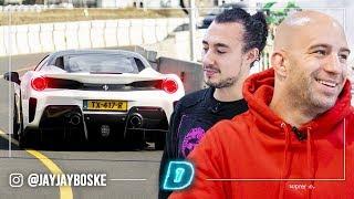 """Dit is JOSEPH KLIBANSKY zijn €400.000,- FERRARI 🚙🎥 // DAY1 """"De Auto Van"""""""