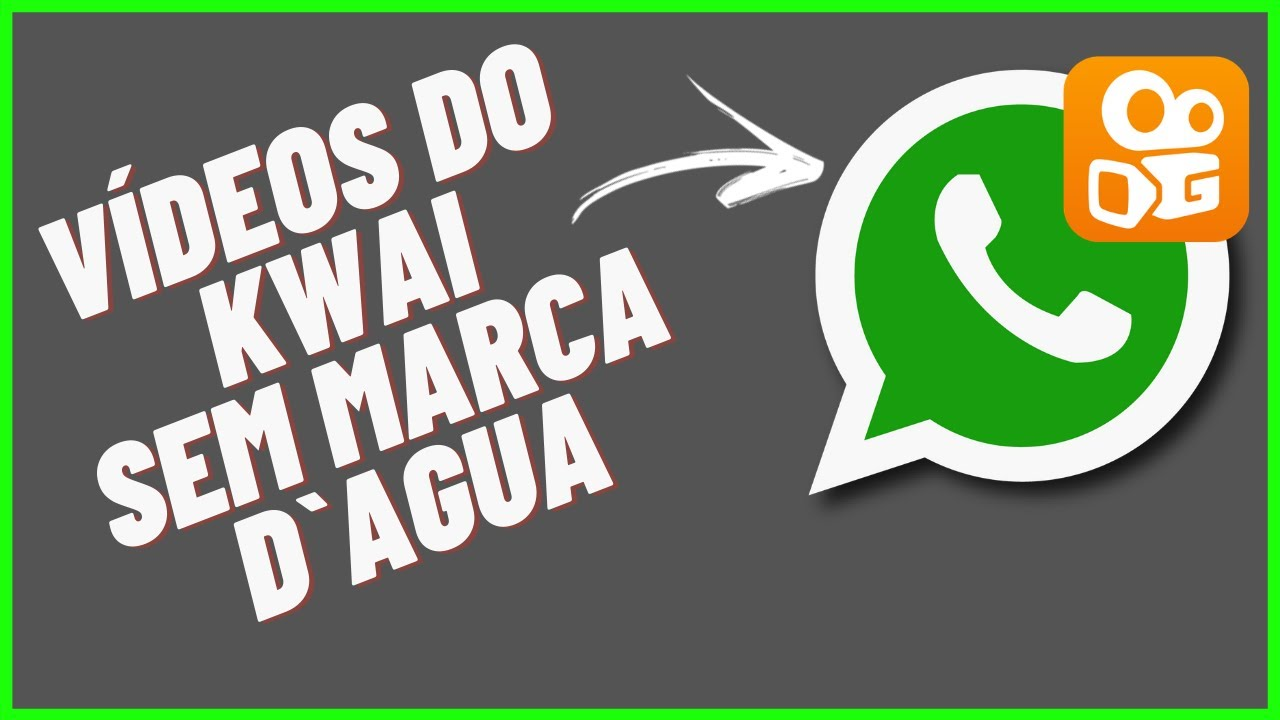 Como Postar Vídeos Do Kwai Sem Marca D'agua no status do WHATSAPP