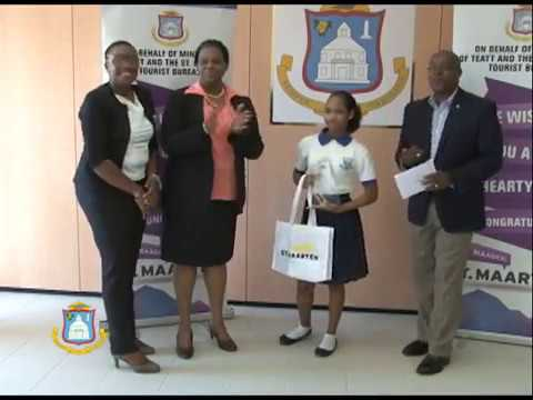 DCOMM SPECIAL - ST  MAARTEN TOURIST BUREAU AWARDS AND CERTIFICATES PRESENTATION 2016