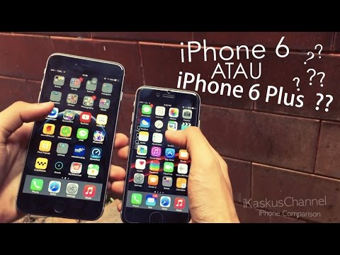 iPhone 6 VS iPhone 6 Plus - Indonesia