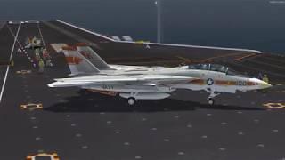 P3Dv4 Aerosoft F 14A Carrier Landing