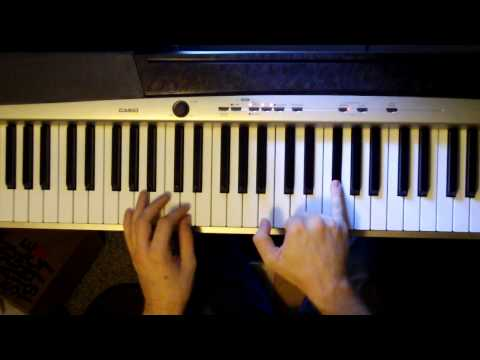 How to play A Wolf At The Door by Radiohead on Piano (tutorial)