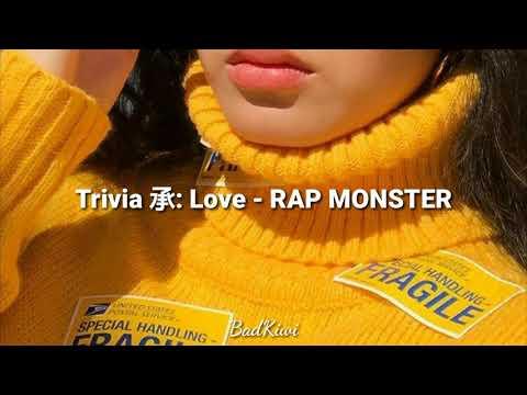 Trivia 承: Love - RAP MONSTER (RM)// Sub Español