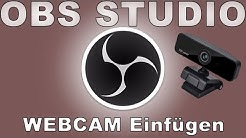 OBS Studio - WebCam einfügen
