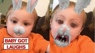 Funniest Snapchat Babies 2!   Funny Baby Compilation