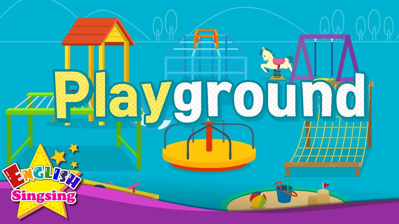 Download Kids vocabulary - Playground - Learn English for kids - English educational video
