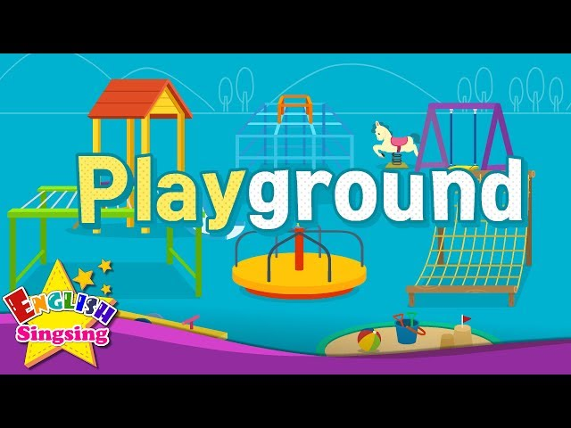 Kids vocabulary - Playground