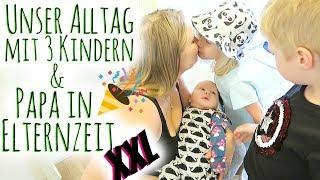 XXL VLOG | Unser Alltag mit 3 Kindern | Baby ist 8 Wochen alt! | Familienvlog #127