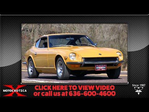 1971 Datsun 240Z -- For Sale @ MotoeXotica