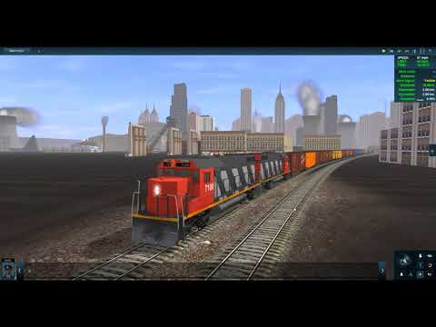 Youngman Plays Trainz A New Era | Trainz Race | Up Challenger VS CN GP38-2