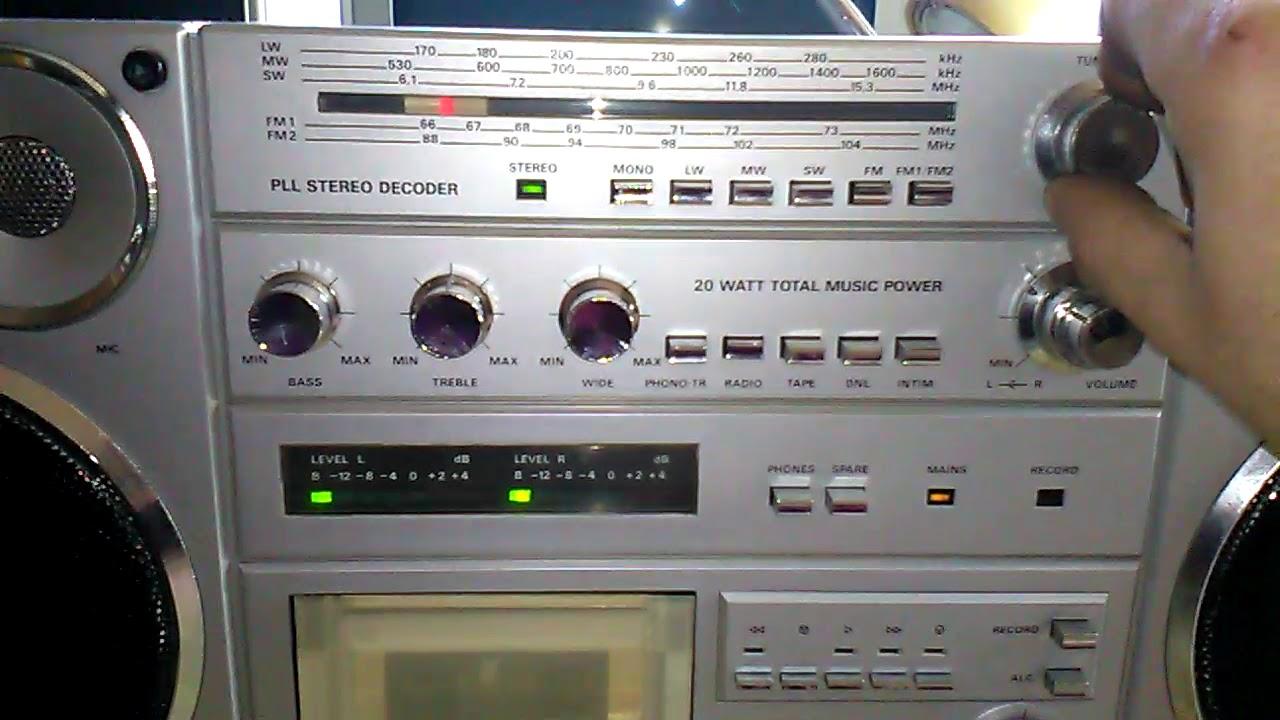 Ogromnie Radio Condor Rm820s po naprawie - YouTube CW71