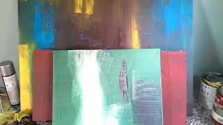Fabricando telas para pintura