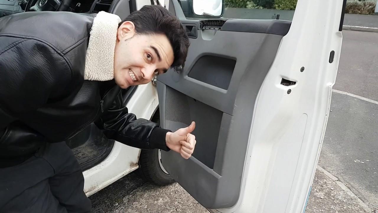 VW T5 Speaker Replacement & Door Card Removal