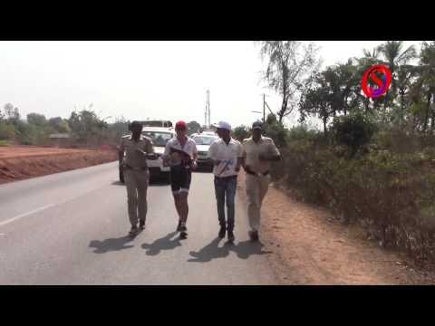 Special report: 'Spirit of India' runner Patrick Farmer arrives in Bhatkal