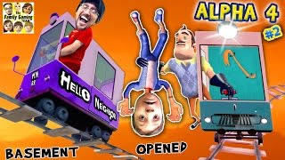 HELLO NEIGHBOR ALPHA 4: CHOO CHOO TRAINS \u0026 BOO BOO THANGS🔥 FGTEEV Pt 2 Basement Marts Tips \u0026 Tricks