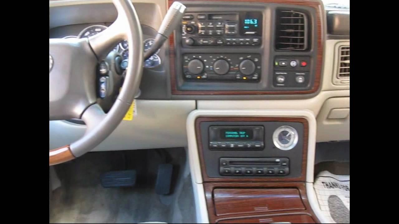 2002 Cadillac Escalade Youtube
