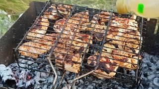 Как сделать сочный и нежный шашлык СЕКРЕТЫ. Рекомендации по приготовлению шашлыка - маринад мясо.
