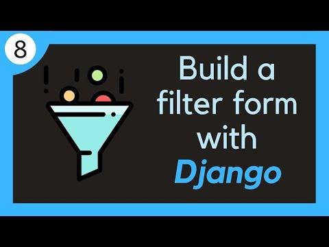 Build a dynamic filtering form with Django // 8 - Creating a React project thumbnail