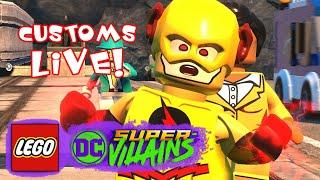 LEGO DC Supervillains Customs Live!