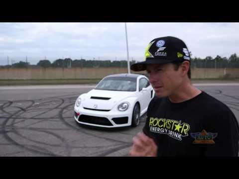 Tanner Foust & Scott Speed Talk VW Beetle Racecar