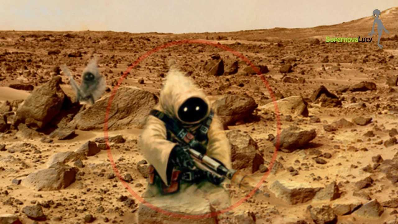 Aliens Life On Mars??? - NASA Latest News - YouTube