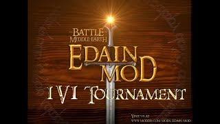 BFME2 ROTWK Edain Mod 1v1 Tournament Dwalin VS Hexinkoenig