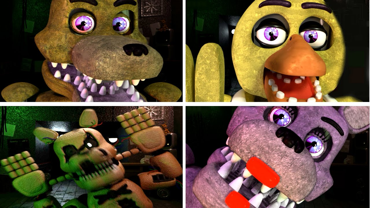 Back For More All Animatronics & All Jumpscares