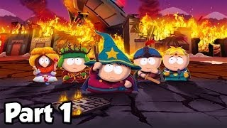South Park: The Stick of Truth - Part 1 Thief Gameplay - The New Kid