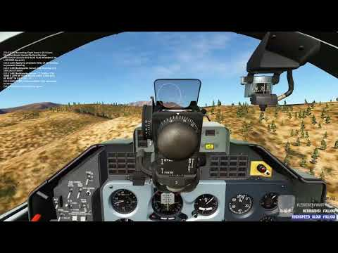 DCS World - Nevada 2.1 - Blueflag Multiplayer action