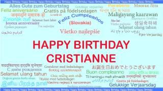 Cristianne   Languages Idiomas - Happy Birthday