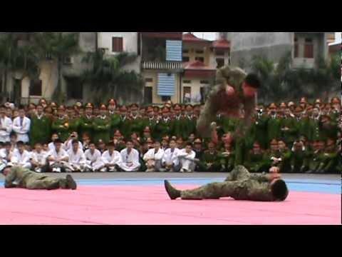 Võ chiến đấu của các chiến sĩ đặc công 1