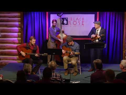 """The Aaron Walker Quartet at BRAS """"Minor Swing"""""""