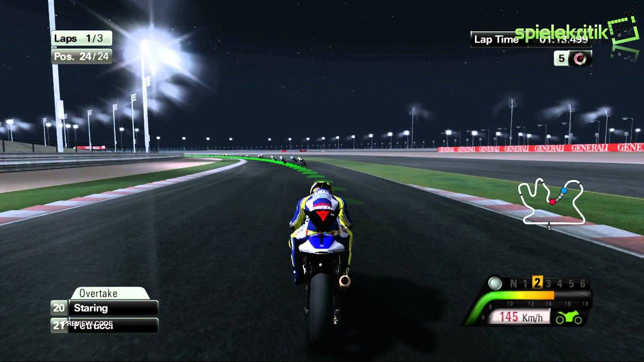 "Moto GP 13: Gameplay #6 ""Qatar, No Traction Controls"" #spielekritik.TV - YouTube"
