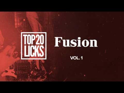 *NEW* Top 20 Licks: Fusion Vol.1   JamTrackCentral.com