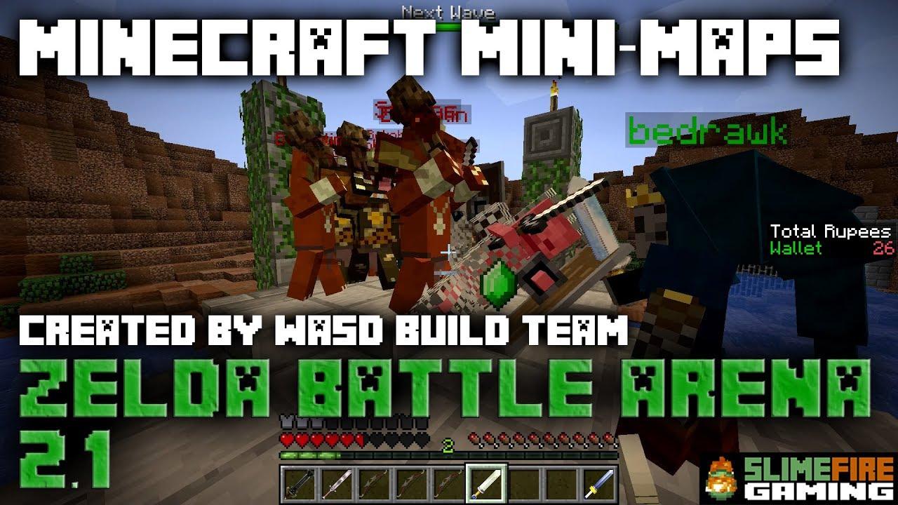 Minecraft Mini-Maps: Zelda Battle Arena 2 1