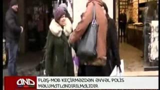 ANS about FLASHMOB Azerbaijan
