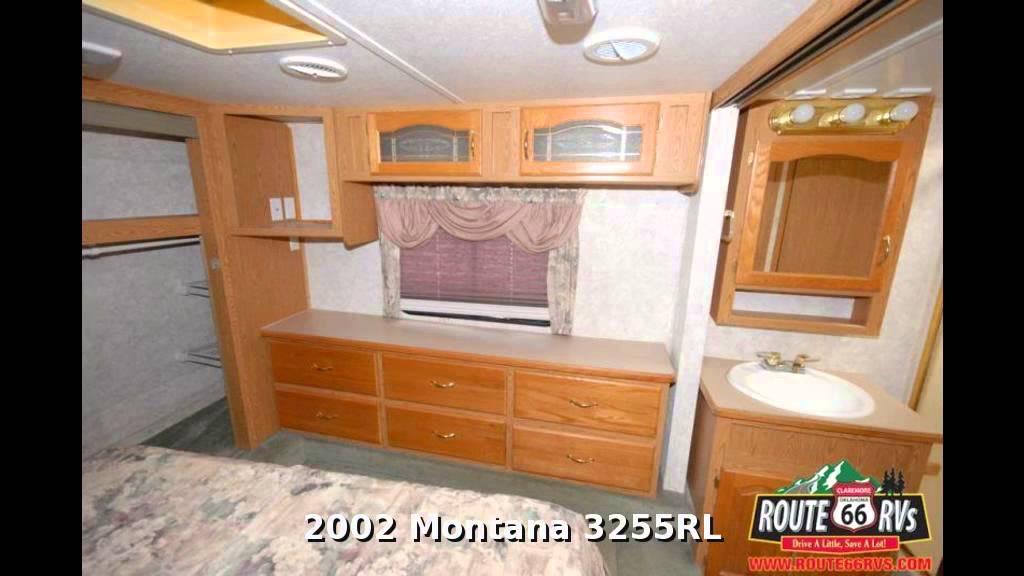 2002 Keystone Montana 3255rl Fifth Wheel Rear Living Room In Claremore Ok Youtube