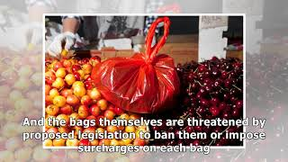 ✫The Red Bags of Chinatown: For Good Luck and Cheap Produce
