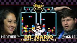 Dr. Mario Championship Rd. 3 pt. 1 — Heather Ito vs. World Champ!