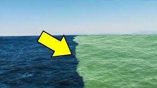 É por Isso Que Esses Dois Oceanos Não Se Misturam
